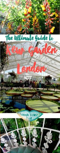 The Ultimate Guide to Kew Garde, London | Laugh Travel Eat