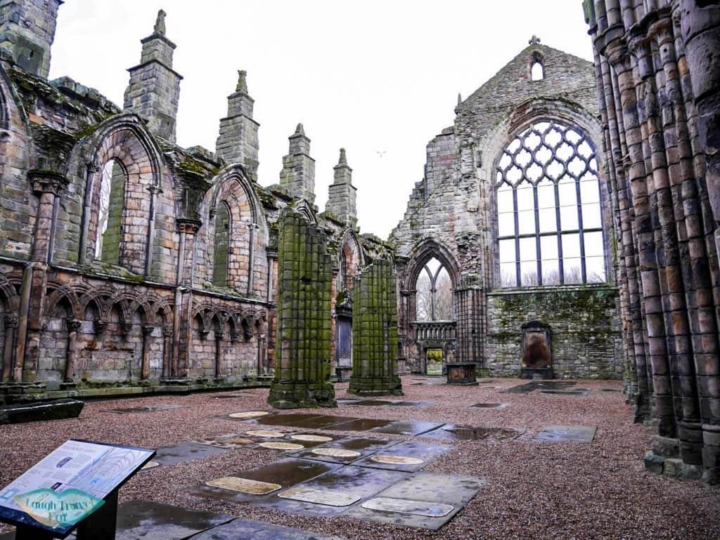 The beautiful ruin of Holyrood Chapel - Laugh Travel Eat