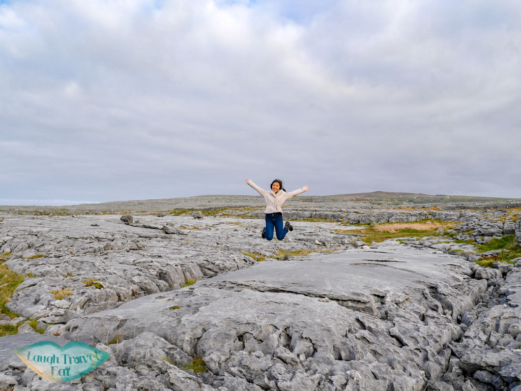 jumping-on-The-Burren-rail-tour-dublin-Ireland-Laugh-Travel-Eat