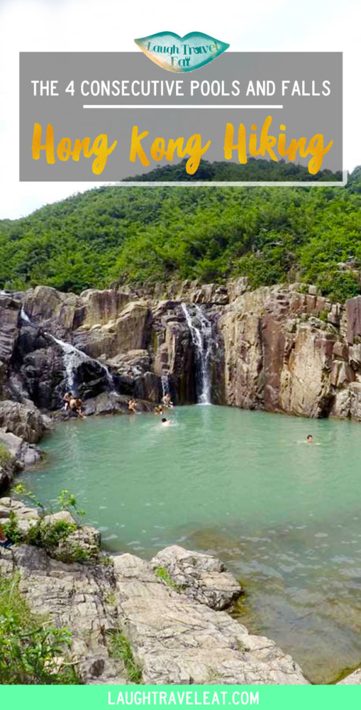 4 consecutive pools and falls, Hong Kong Hiking | Laugh Travel Eat