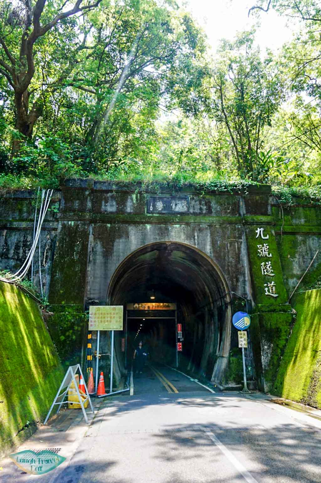 Entrance to the Number 9 Tunnel on Ho Fon Bikeway, Taichung | Laugh Travel Eat