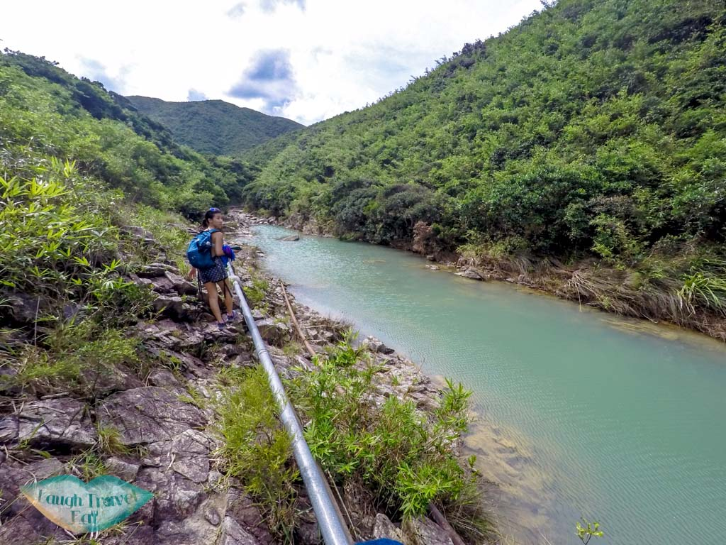 Luk-Wu-trail-north-of-the-four-consecutive-pools-and-falls-Sai-Kung-Hong-Kong-Laugh-Travel-Eat