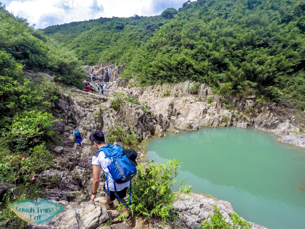 Luk-Wu-trail-to-the-4-consecutive-pools-and-falls-sai-kung-hong-kong-Laugh-Travel-Eat
