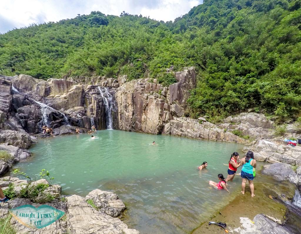 The-four-consecutive-pools-and-falls-Sai-Kung-Hong-Kong-Laugh-Travel-Eat