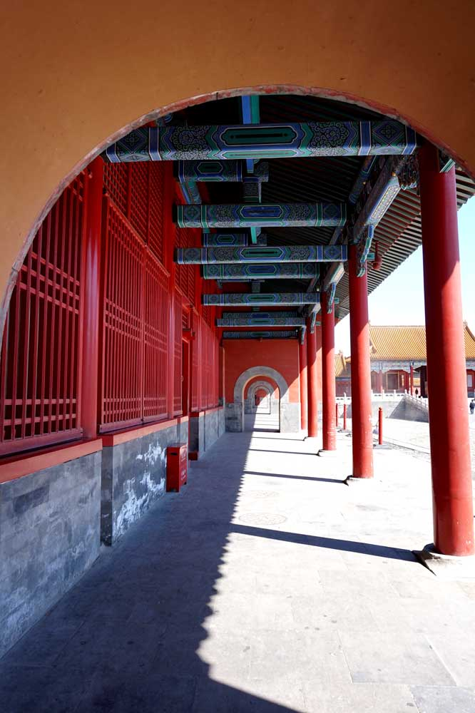 Gate, Inner Court, Forbidden City, Beijing | Laugh Travel Eat