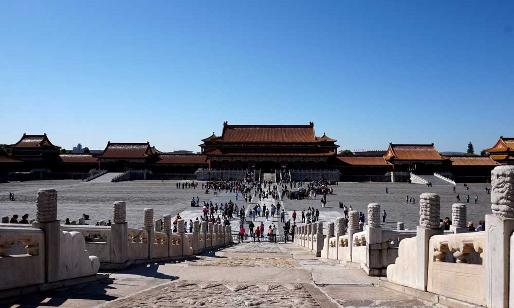 The gate of supreme harmony, forbidden city, beijing | Laugh Travel Eat