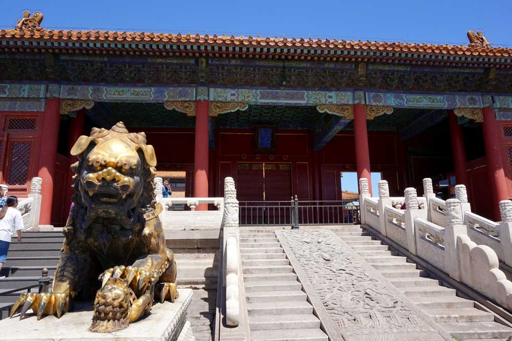 The Gate that leads to the Imperial Supremacy Hall, Forbidden City, Beijing | Laugh Travel Eat