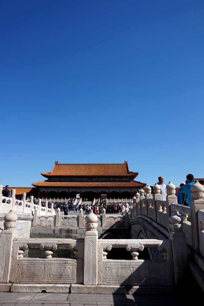 The Golden Water Bridge, Forbidden City, Beijing | Laugh Travel Eat