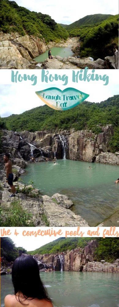 Hong Kong Hiking - Sai Kung the 4 consecutive pools and falls | Laugh Travel Eat