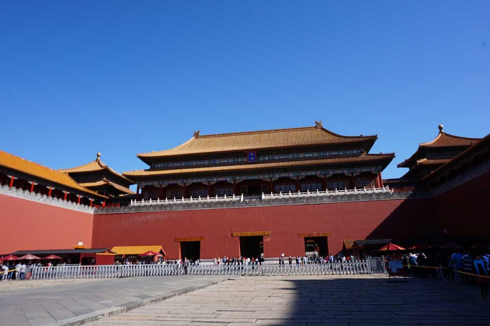 The Meridian Gate and the entrance to the Palace complex, Forbidden City, Beijing | Laugh Travel Eat
