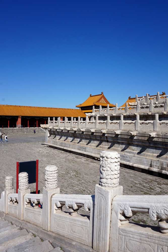 The marble terrace, forbidden city, beijing | Laugh Travel Eat