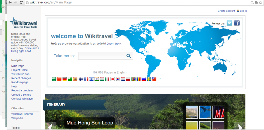 wikitravel as a research resource for travel plan | Laugh Travel Eat