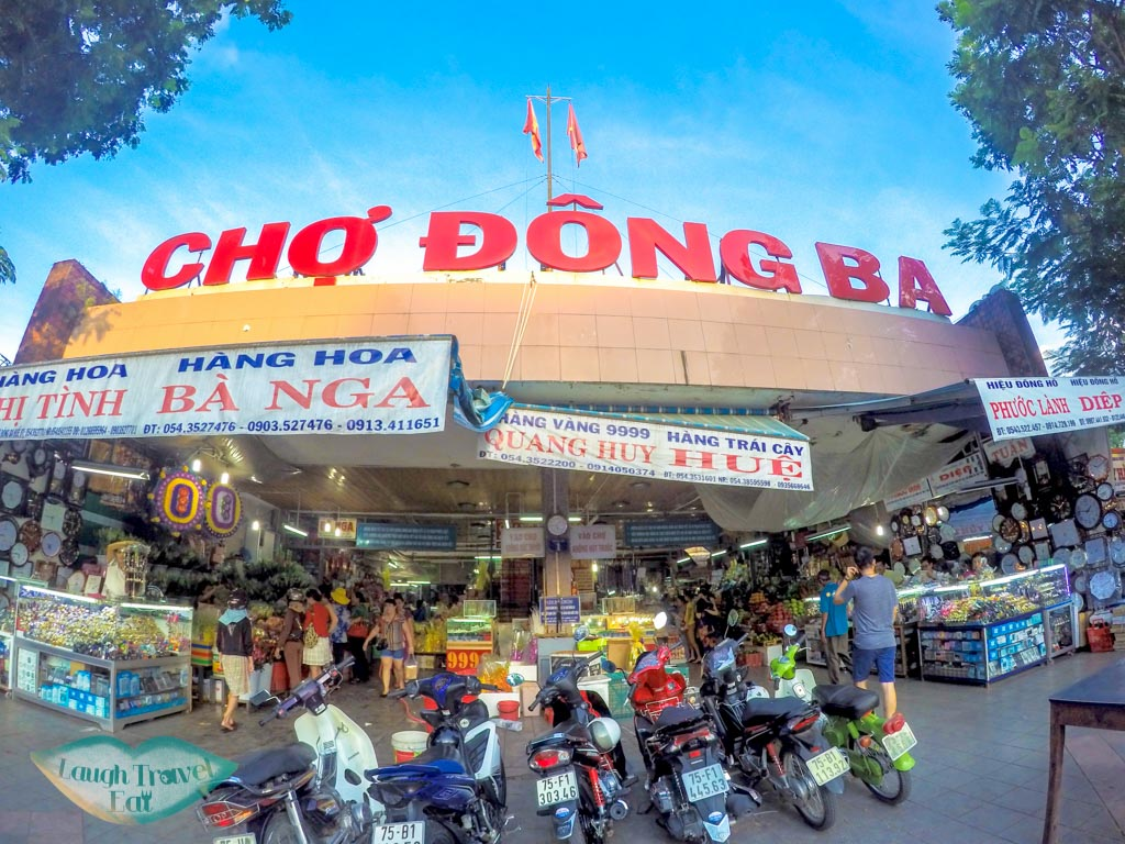 Dong Ba Market Hue Vietnam - laugh travel eat
