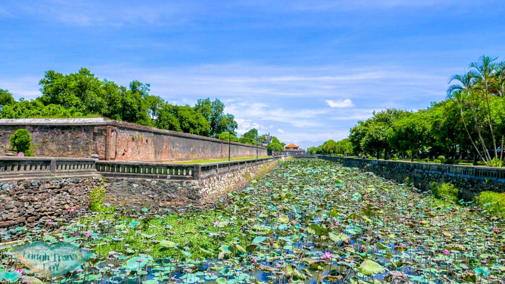 Moat of Hue Citadel, Hue, Vietnam - Laugh Travel Eat