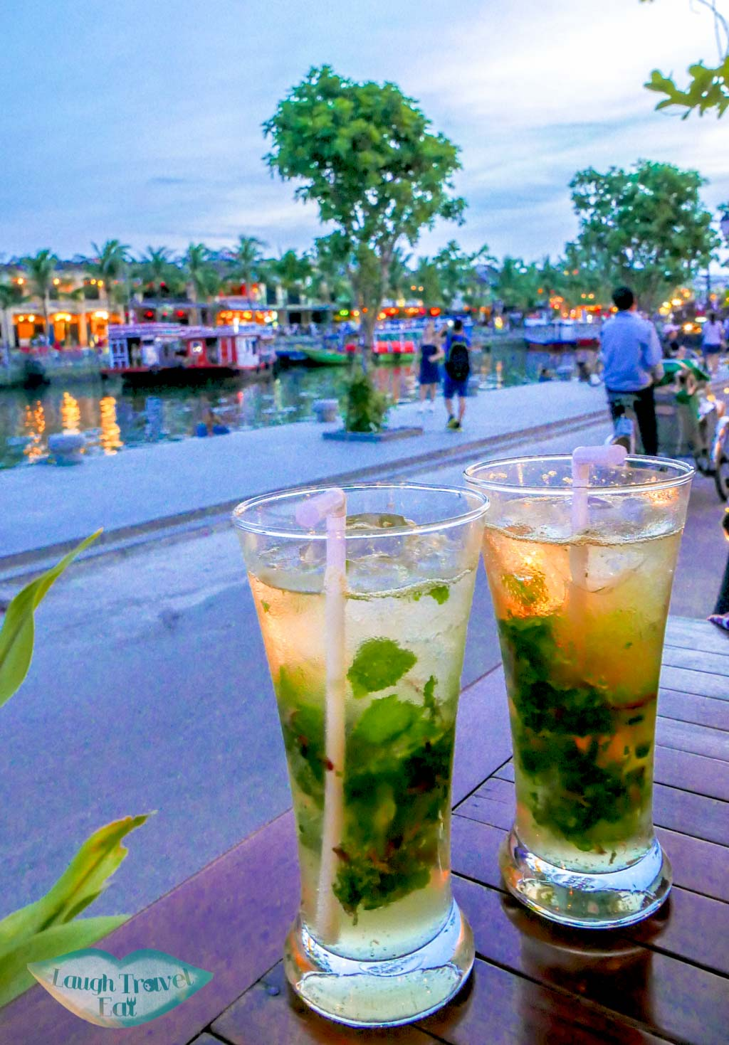 Mojitos at Restaurant Cafe 96, Hoi An, Vietnam - Laugh Travel Eat