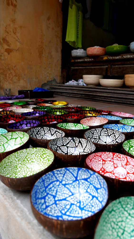 Coconut bowls in Hoi An, Vietnam | Laugh Travel Eat