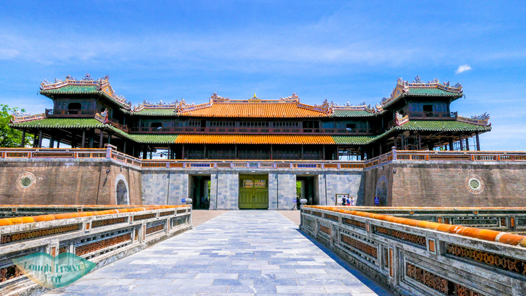 entrance Hue Citadel, Hue, Vietnam - Laugh Travel Eat
