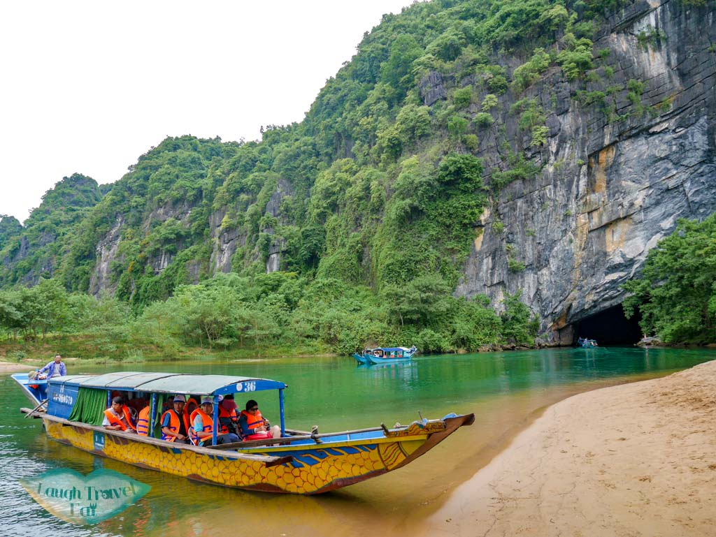 entrance phong nha cave phong nha vietnam - laugh travel eat