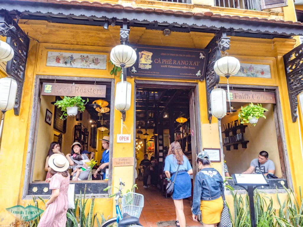 faifo cafe hoi an vietnam - laugh travel eat