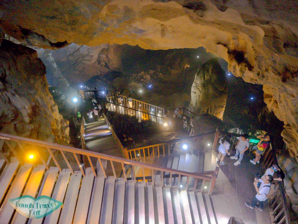 going down to paradise cave phong nha vietnam - laugh travel eat
