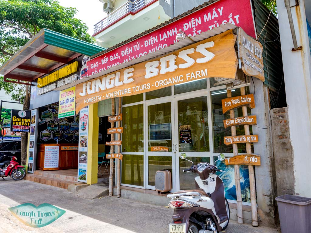 jungle boss office phong nha vietnam - laugh travel eat