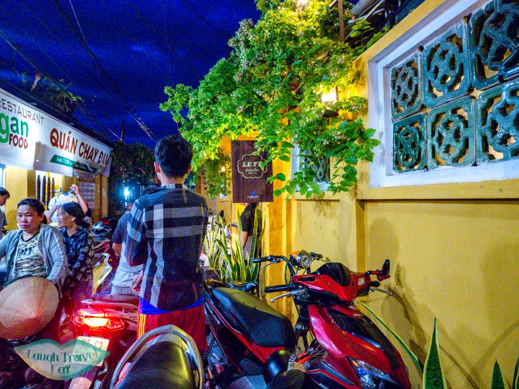 le fe dining room hoi an vietnam - laugh travel eat