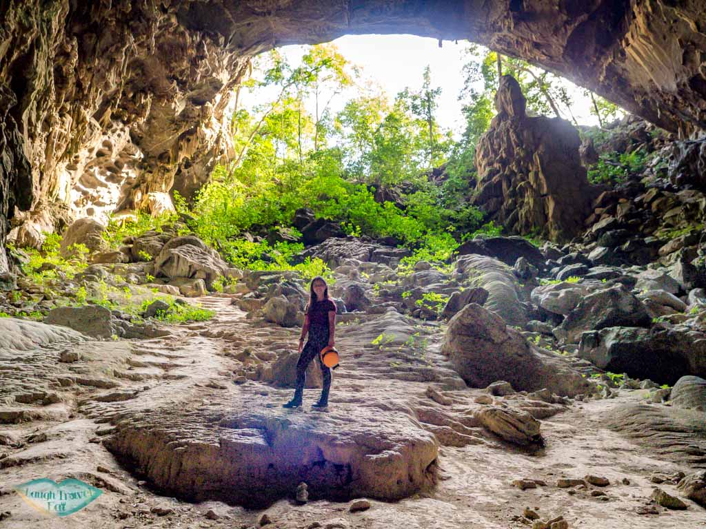 me at elephant cave jungle boss phong nha ke bang vietnam - laugh travel eat