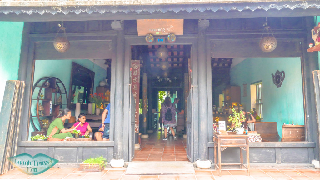 reaching out tea house, hoi an old town, vietnam - laugh travel eat