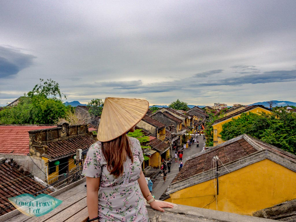 rooftop faifo coffee hoi an vietnam - laugh travel eat