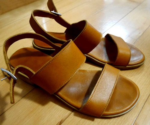 my lovely pair of sandals!