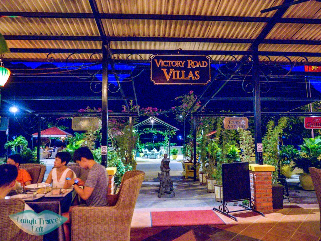 victory road villa phong nha vietnam - laugh travel eat