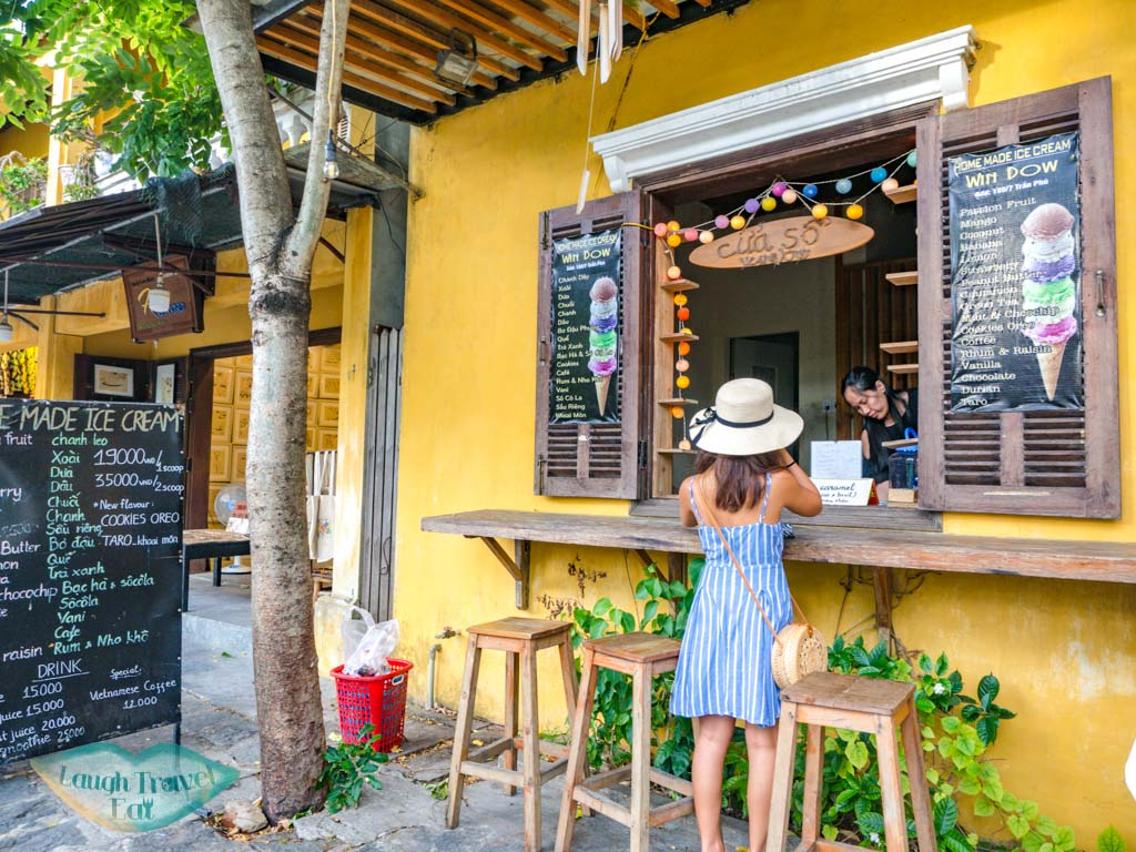 window ice cream hoi an vietnam - laugh travel eat