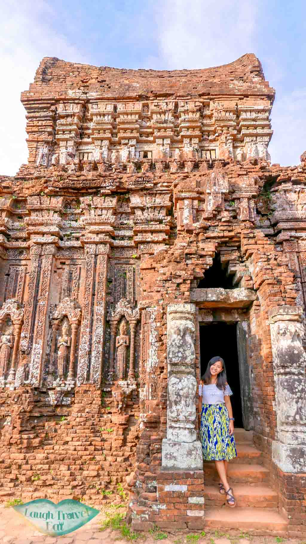 My Son Hindu brick temple, Hoi An, Vietnam - Laugh Travel Eat