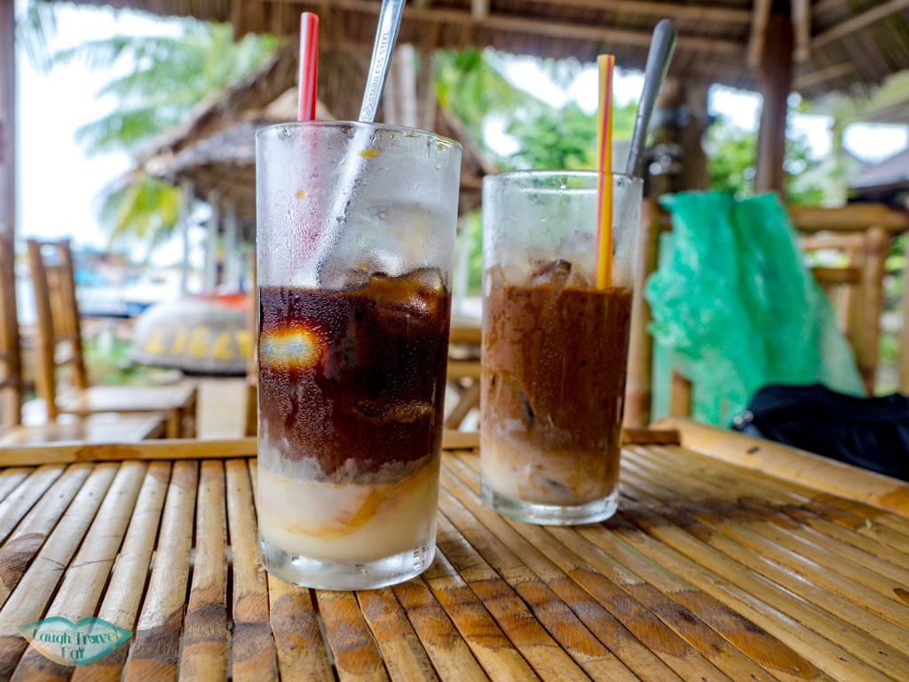 coffee bamboo rafting hoi an vietnam - laugh travel eat