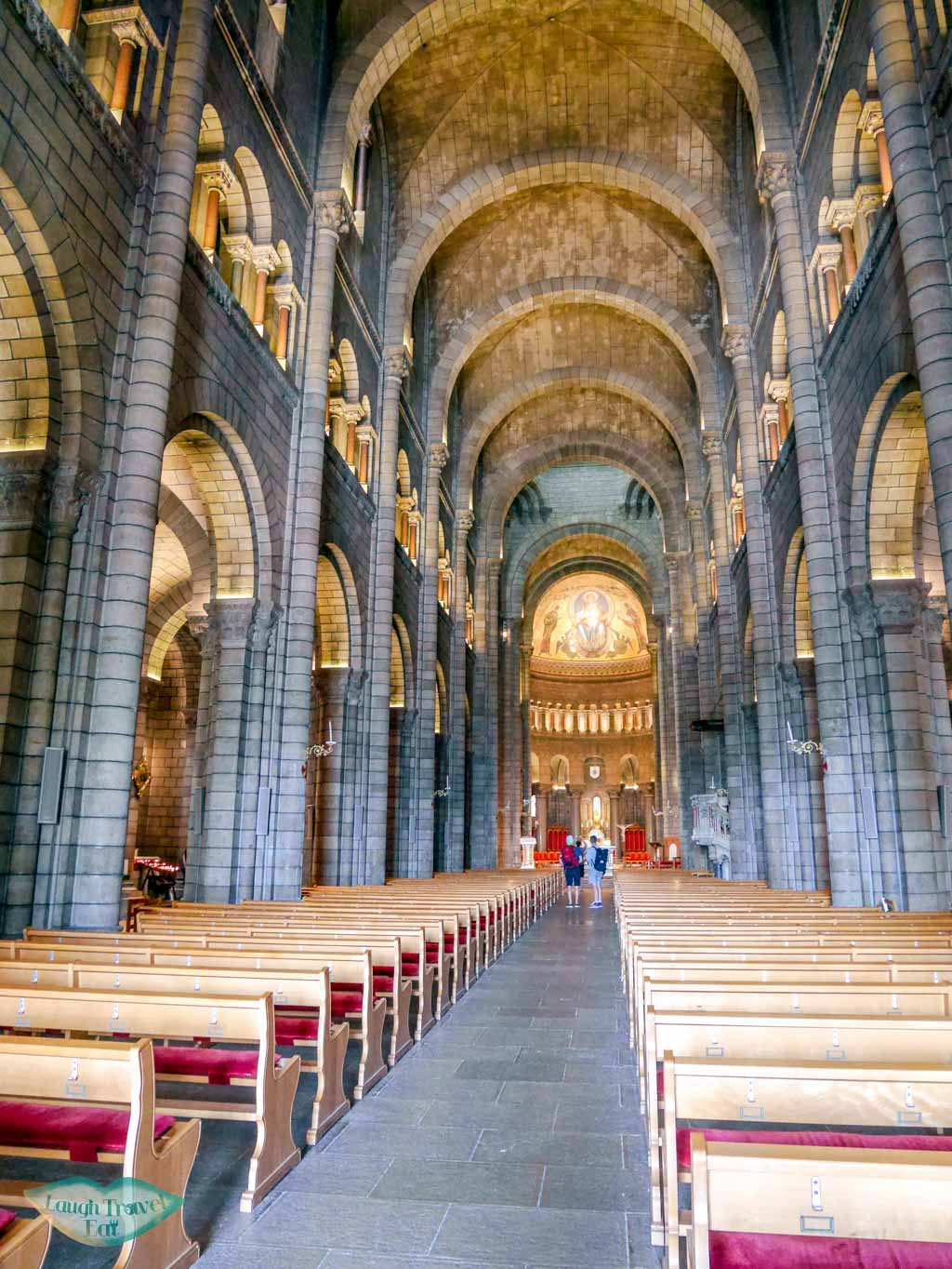 interior of monaco cathedral monaco | Laugh Travel Eat