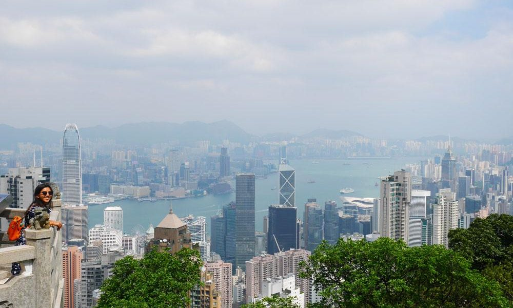 The Lion Pavilion Lookout, The Ultimate Guide to the Peak, Hong Kong | Laugh Travel Eat