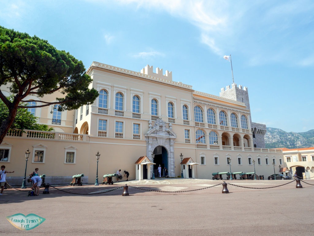 prince's palace another part monaco | Laugh Travel Eat
