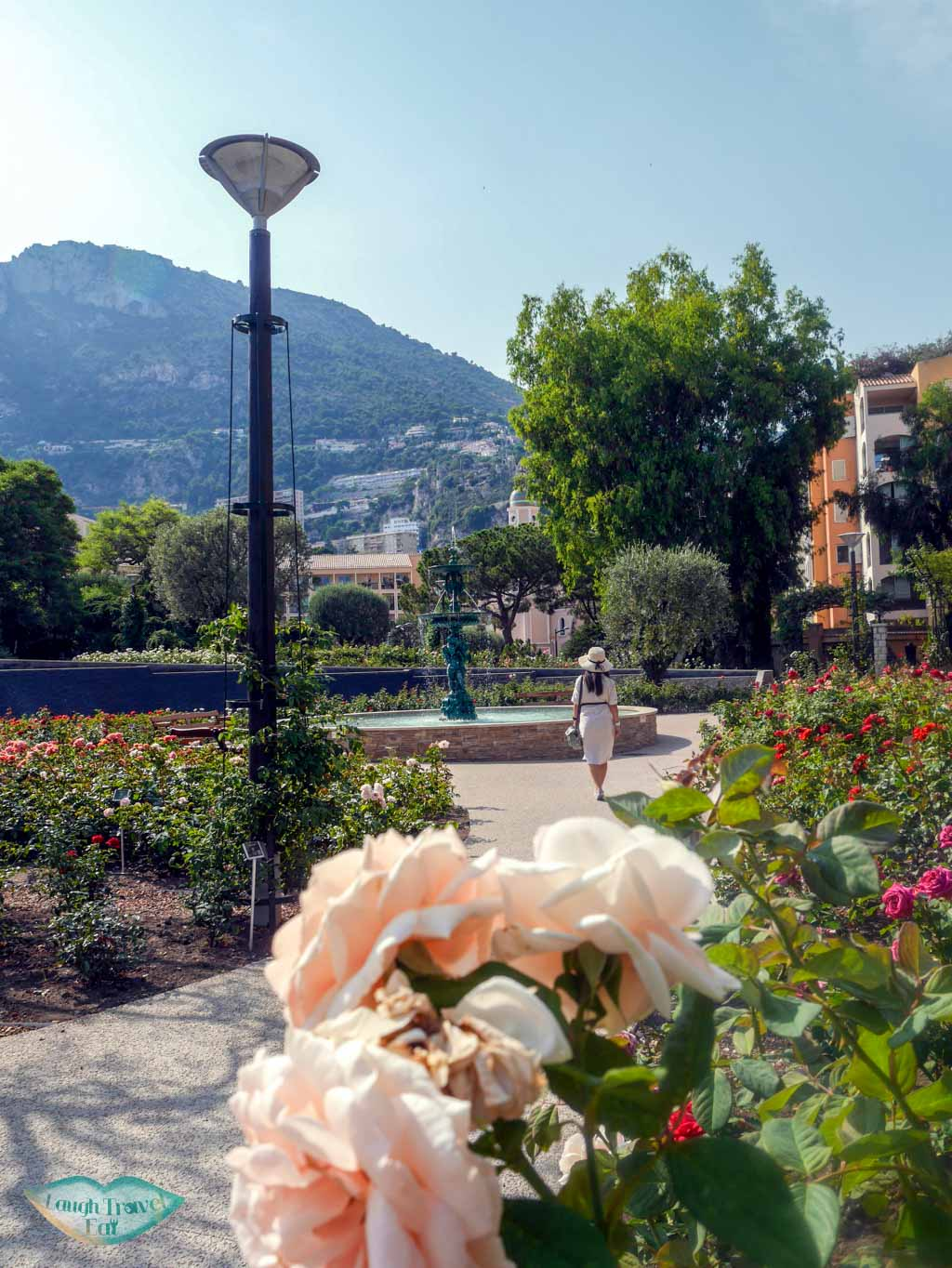 princess grace rose garden monaco | Laugh Travel Eat