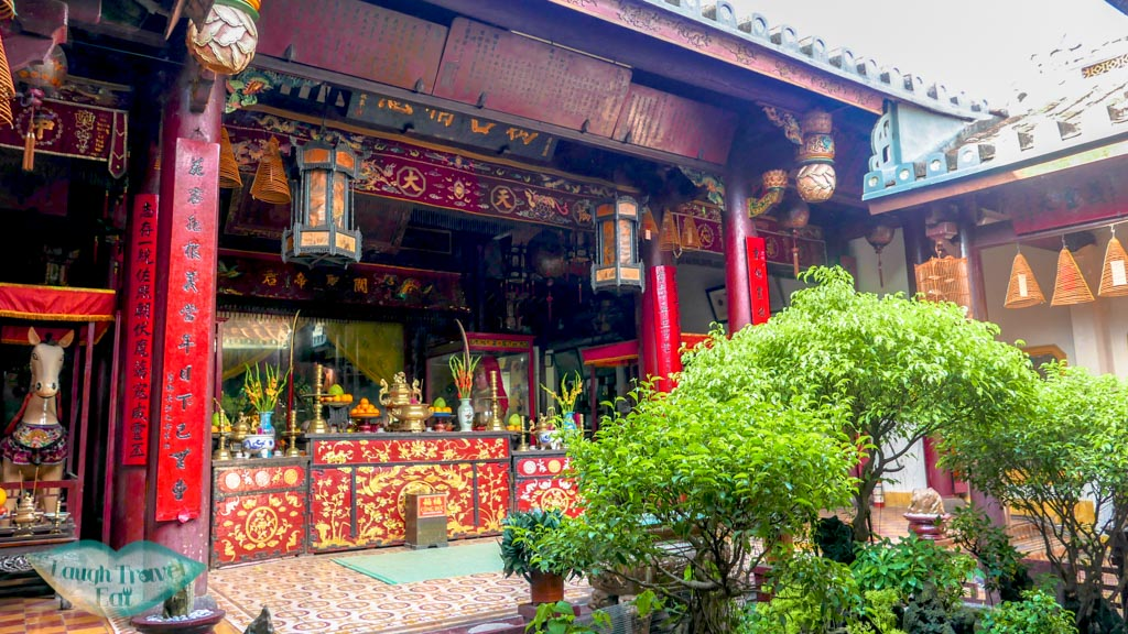 quang cong temple interior, Hoi An, Vietnam - Laugh Travel Eat