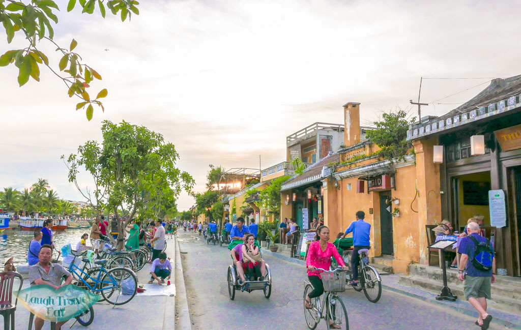 sunset Old Town Hoi An, Vietnam - Laugh Travel Eat