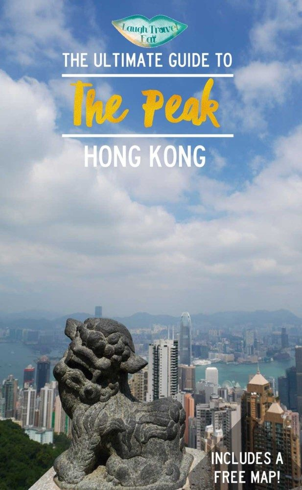 The Peak is many people's symbol of Hong Kong, with its iconic view over the Victoria harbor as well as the famous funicular railway #Peak #HongKong