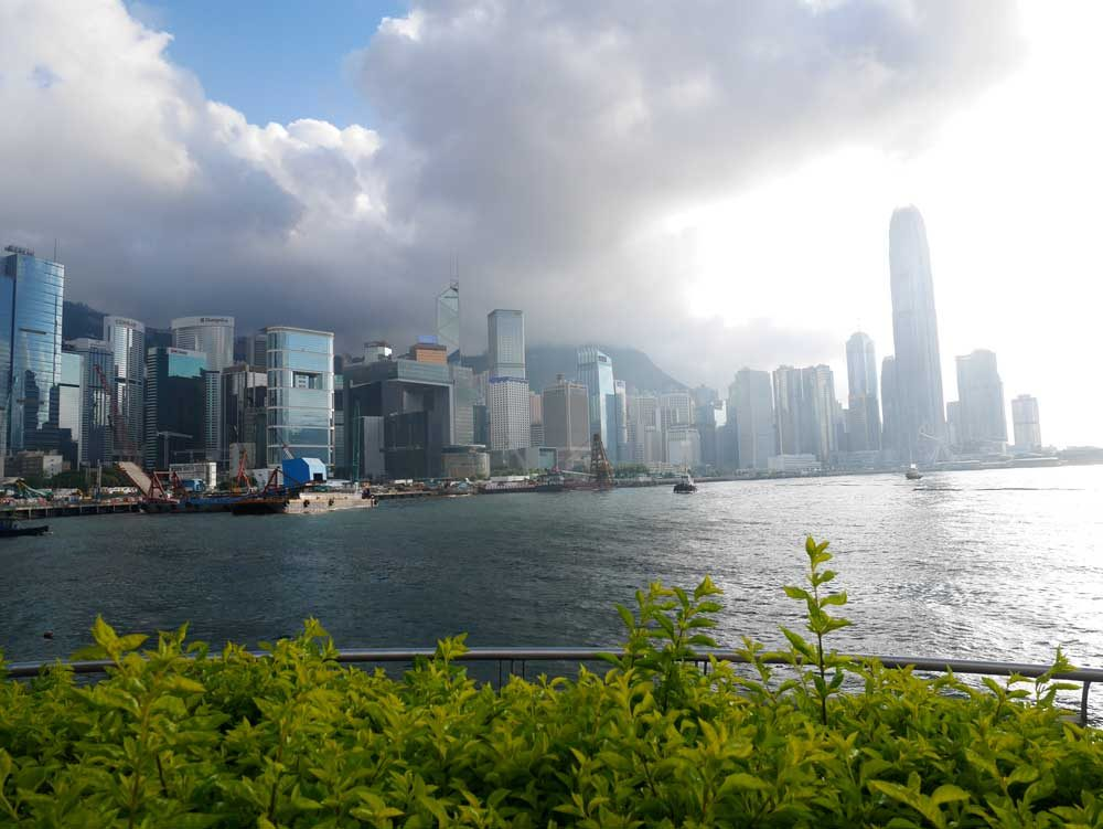 The perfect capture of weather in Hong Kong: unpredictable | Laugh Travel Eat