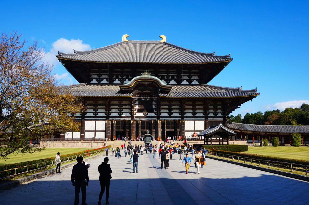 Todaiji at Nara, Japan | Laugh Travel Eat