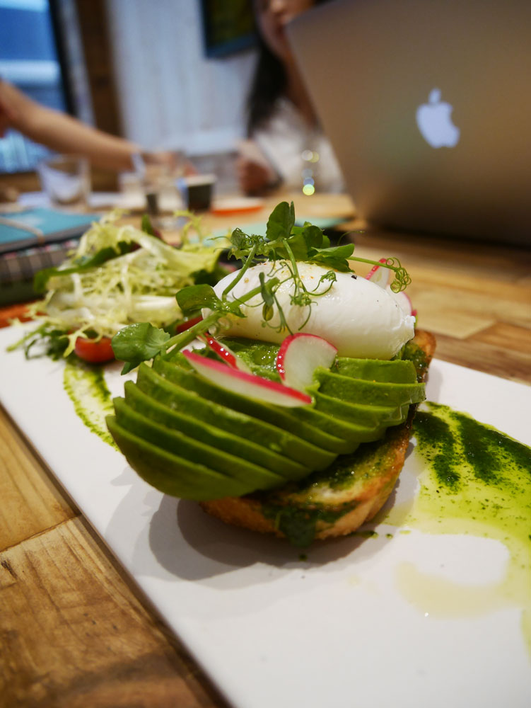 Avocado tast at elephant ground, Hong Kong | Laugh Travel Eat