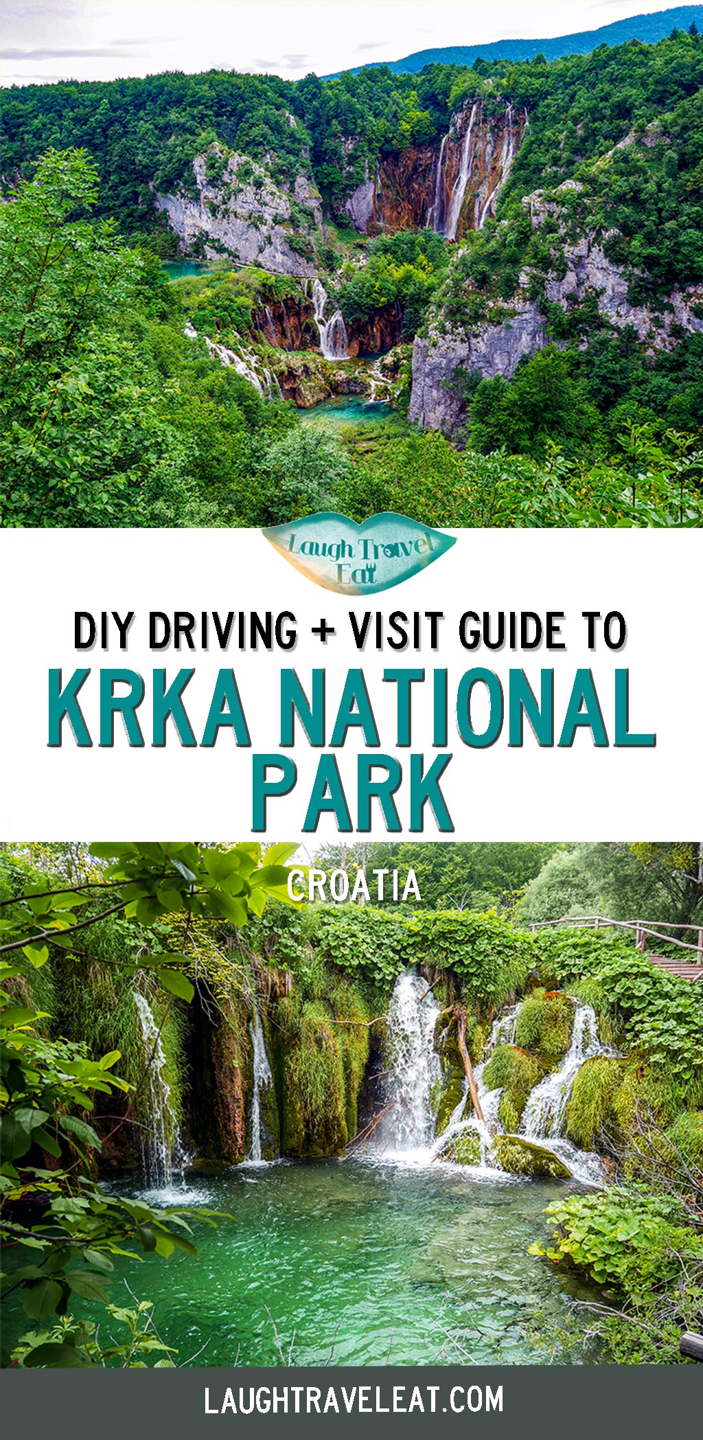 Krka National Park is the less famous sibling of Plitvice in Croatia. Located between Split and Zadar, it's a perfect day trip destination. Here's a self drive guide to Krka from Splie: #Krka #NationalPark #Croatia