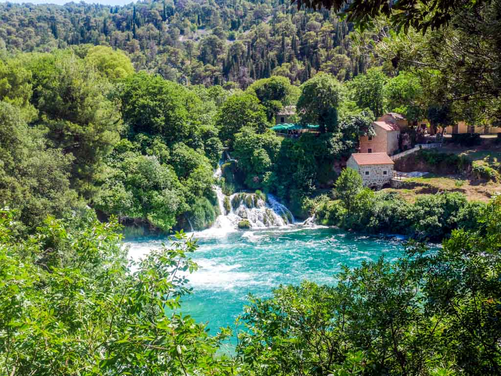 krka national park waterfall cratia