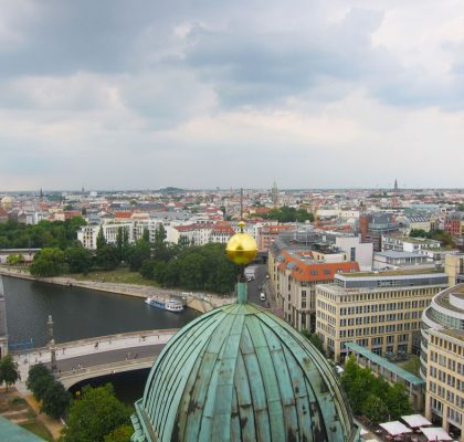 Mitte viewed from Berliner Dom (Berlin Cathedral), Berlin | Laugh Travel Eat