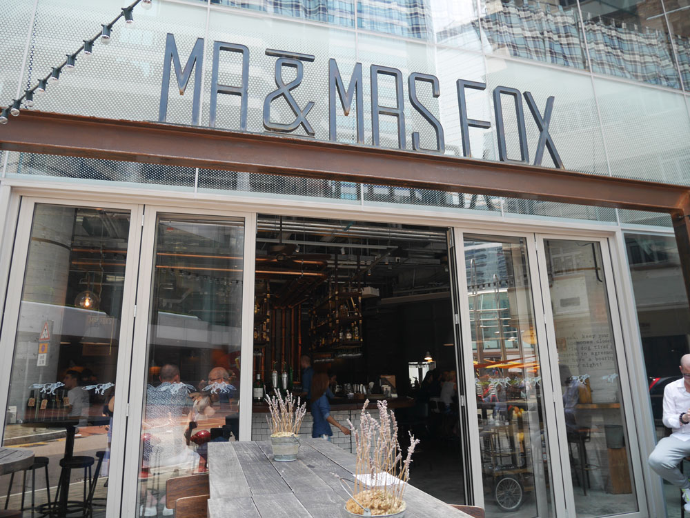 Mr and Mrs Fox, Quarry Bay, Hong Kong | Laugh Travel Eat