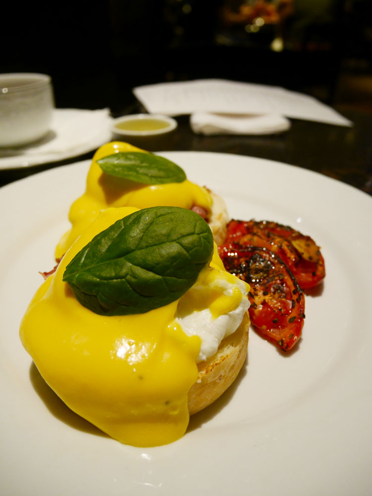 Egg benedict at SImply Life, Hong Kong | Laugh Travel Eat