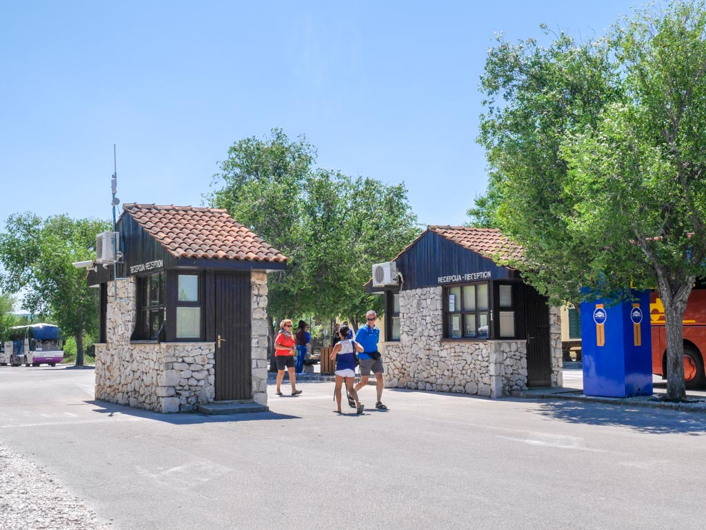 ticket booth krka national park croatia